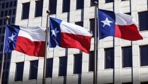 texas flag page header